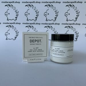 Depot n° 401 Pre & post shave cream skin protection 75 ml