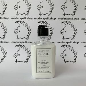 Depot n° 402  Pre & post shave emollient fluid 100 ml