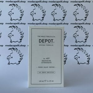 Depot n° 407  Restoring aftershave 100 ml