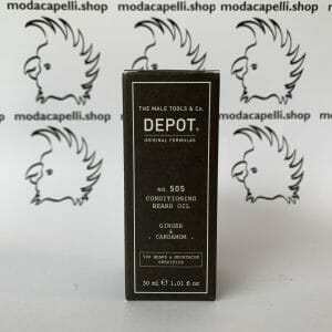 Depot n° 505 conditioning bear oil – Ginger and Cardamom – 30 ml