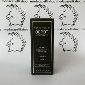 Depot n° 505 conditioning bear oil – Leather & Wood – 30 ml
